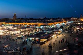 Jemaa el Fnaa (Marrakech Morocco)