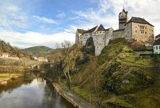 loket castle on the ohře river