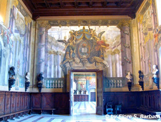 Napoli (NA), 2011, Castel Capuano: affreschi.