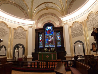 Holy Trinity Cathedral sanctuary
