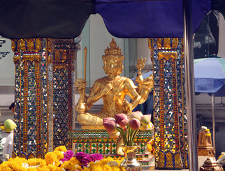 Erawan Shrine - the famed 4-faced Brahma