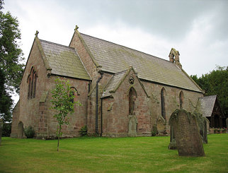 Holy Trinity Church, Bickerton, Cheshire, England