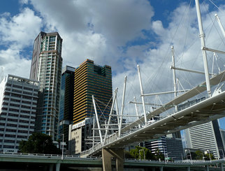 Kurilpa Bridge from the River