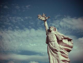 Mother Albania statue, Tirana
