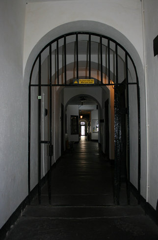 Beaumaris Gaol Lower Corridor
