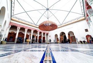 Musée de Marrakech courtyard, Mnebhi Palace
