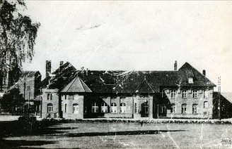 Świdwin Schivelbein Bahnhof dworzec kolejowy przy dawnym Placu Glasenappa