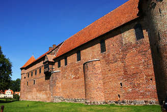 Nyborg castle wall