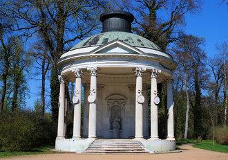 Potsdam Freundschafttempel im Schlosspark Sanssouci