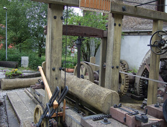"""Stoffels Säge-Mühle"" Museum Hohenems"