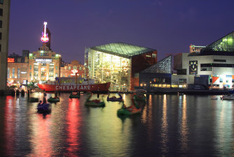 Inner Harbor Night - 5
