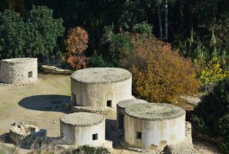 Restored houses of Choirokoitia