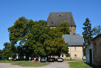Gotischer Wohnturm in Siedlęcin