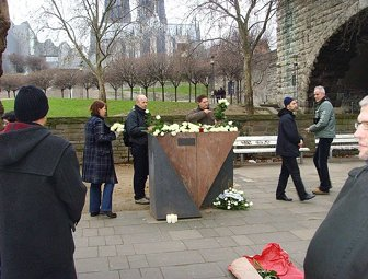 Memorial to gay and lesbian victims of National Socialism