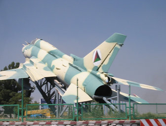 102-0207 - Fighter Jet on Great Massoud Road 2