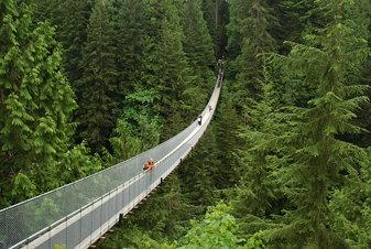 Vancouver Capillano Suspention Bridge