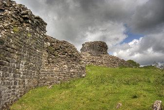 Dryslwyn Castle HDR