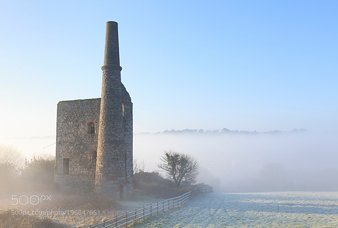 Mist at Wheal Bush
