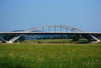 Waldschößchenbrücke from the west