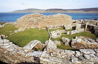 Broch of Gurness, Aiker Ness, Mainland, Orkney