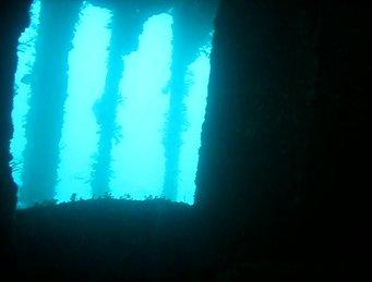 Wreck of HMS Maori