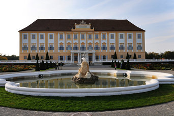 Imperial Schloss Hof - view from gaderns