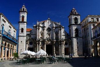 La Habana, Catedral de San Cristobal, Cuba