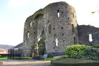 Neath Castle ruins