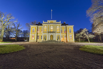 Steninge Palace in Blue Hour