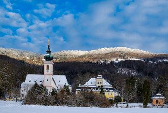 15.1.2017 Pfarrkirche und Schloss Aigen
