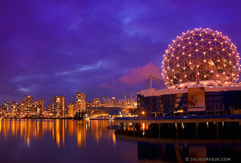 Tonight in Vancouver: The Telus World of Science Building