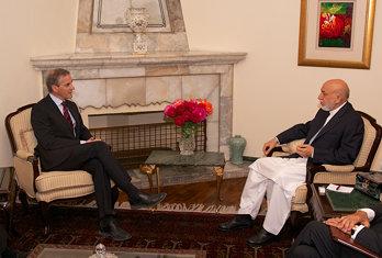Støre og Karzai