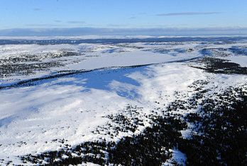 Sjusjøen, 14. januar 2009