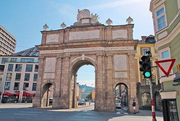 Triumphpforte, Triumphal Arch, Innsbruck, Austria