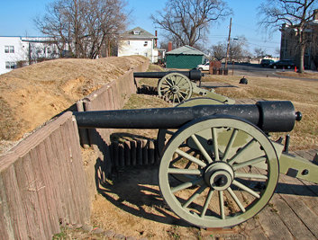 20090208 09 Parrott Rifled Cannons