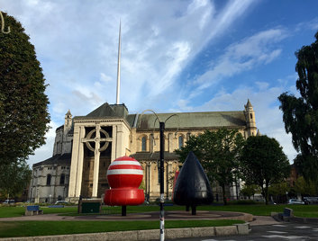 Buoy Park at Saint Anne's Cathedral