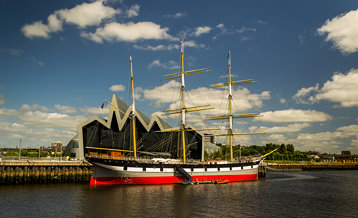 Riverside museum and SV Glenlee