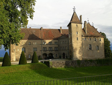 Allaman Castle 1253