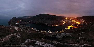 Балаклава. Панорама бухты
