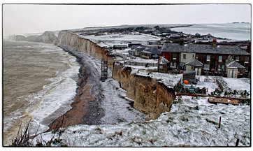 Birling Gap High Snowy Tide