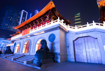 The Jingan Temple - The Main Entrance
