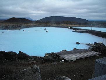 Usine géothermale en Islande