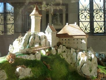 Model of Casimir's Castle in Ojcow
