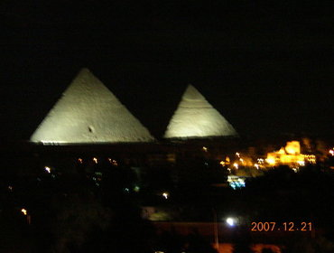 night giza