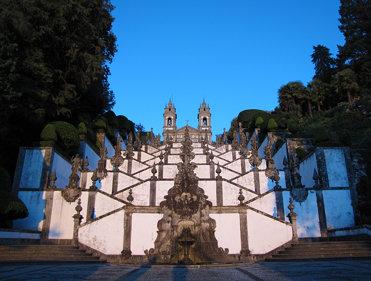 Santuario de Bom Jesus do Monte - Escaleras 5