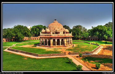 Isa Khan Tomb Enclosure, Humayun's Tomb Complex, New Delhi