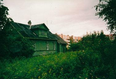 An Old House in Kolomyagi, Saint Petersburg
