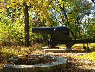 Fort Foote Park - Cannon