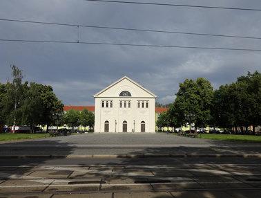1821/24 Magdeburg evangelische klassizistische Kirche St. Nicolai von Karl Friedrich Schinkel/Johann
