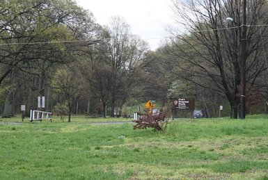 The Foot of Fort Dupont Park